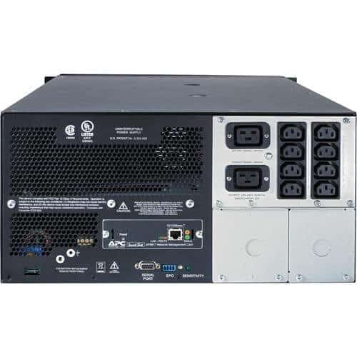 PC Smart-UPS 5000VA 230V RackmountTower SUA5000RMI5U_Connectors