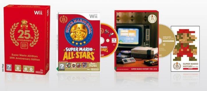 Super Mario All-Stars Edición 25 aniversario para WII