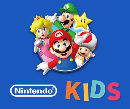Conoce el Nuevo Sitio Web de Juegos Para Niños de  Nintendo