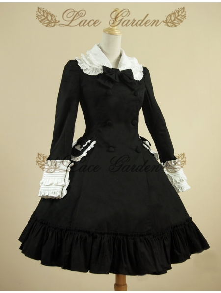 Black Classic Lolita Outfit Devilnight Co Uk