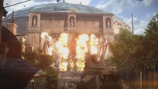 Star Wars Battlefront 2 gameplay trailer screen