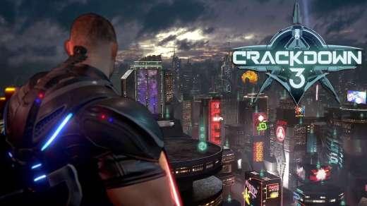 crackdown 3: visuale sulla città