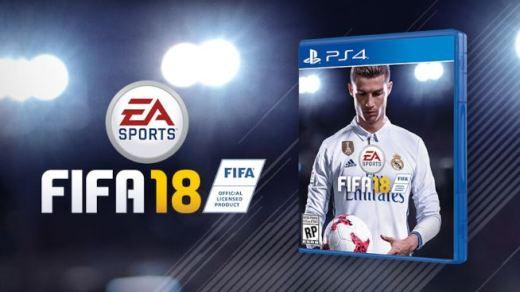 Copertina FIFA 18 - Cristiano Ronaldo