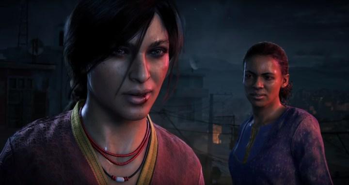 Chloe e Nadine in Uncharted: L'eredità Perduta