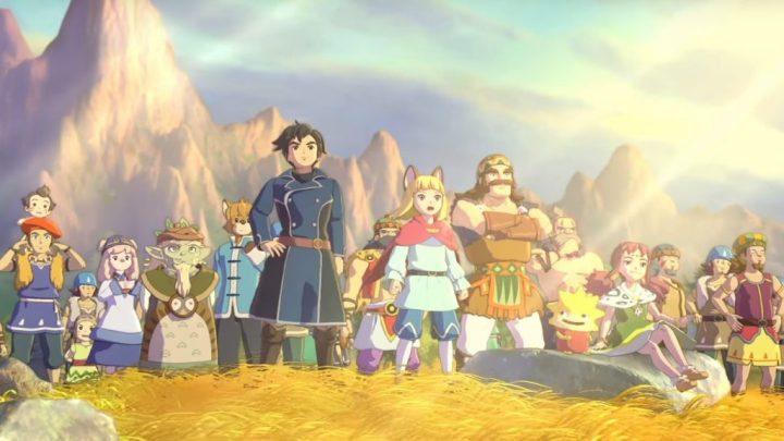 Una nutrita schiera di personaggi in Ni no Kuni 2: Il Destino di un Regno