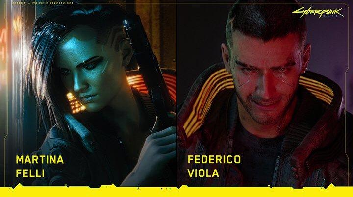 Cyberpunk 2077: Martina Felli e Federico Viola i doppiatori di V