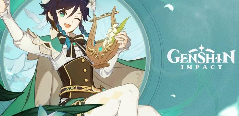 Genshin Impact: come buildare Venti (Armi e Artefatti)