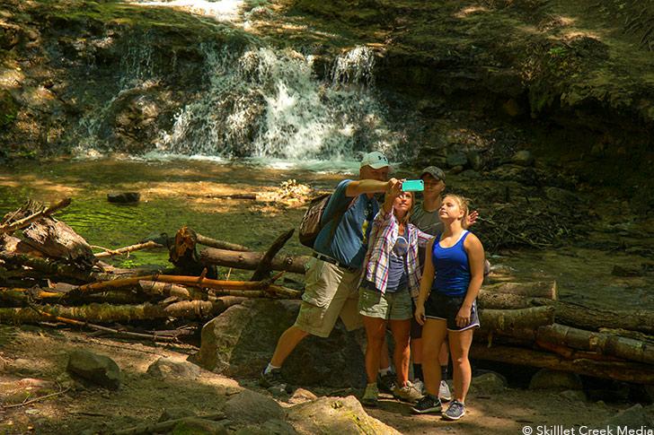 Parfrey's Glen State Natural Area - Devil's Lake State Park Area Visitor's Guide - DevilsLakeWisconsin.com