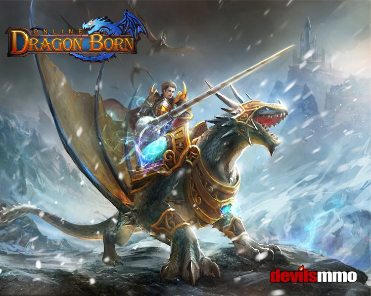 Dragon Born   New Fantasy MMO game   Closed Beta Round that off with crisp graphics that rival current online games  and  with just so much else to do in game  Dragon Born may just be the  free to play