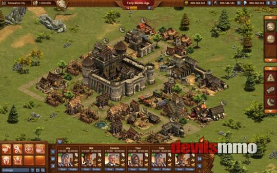 New Strategy Games   Free to play online strategy MMO games Forge of Empires Artwork      Forge of Empires gameplay screenshot