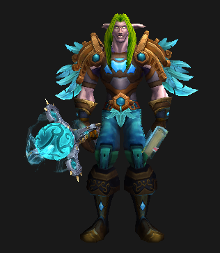 Leather Transmog - Omenai Vest - Male Night Elf Preview