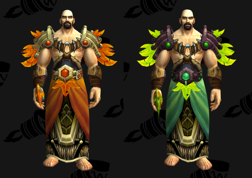 Cloth Transmog - Thunderlord Chestguard - Human