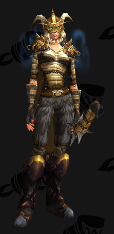 Mail Transmog - Banded Armor - Female Blood Elf