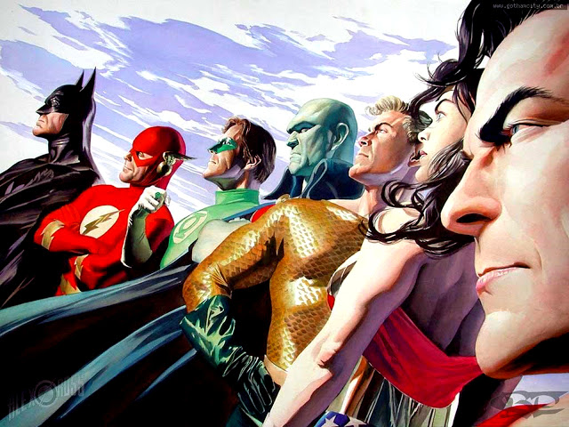The top 100 most powerful characters in DC