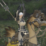 Meet Ikki, Teretha Finally got her Chocobo!