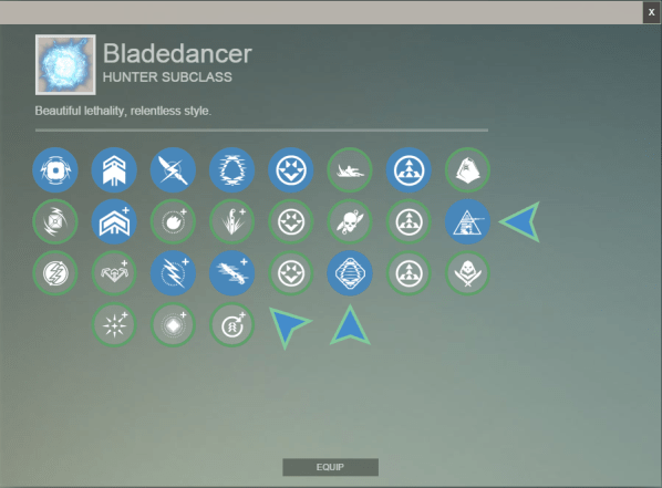 Bladedancer