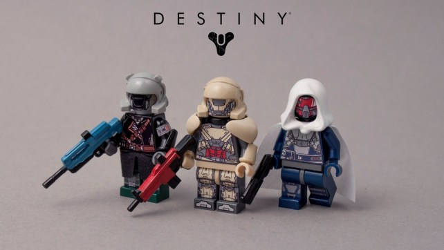 Destiny Lego Part 2 (Even more awesome!)