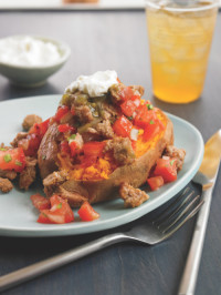 South of the Border Loaded Sweet Potato