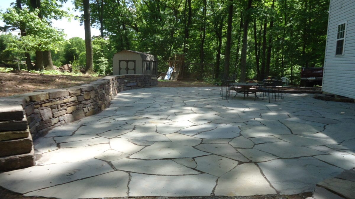 flagstone patios traditional stone