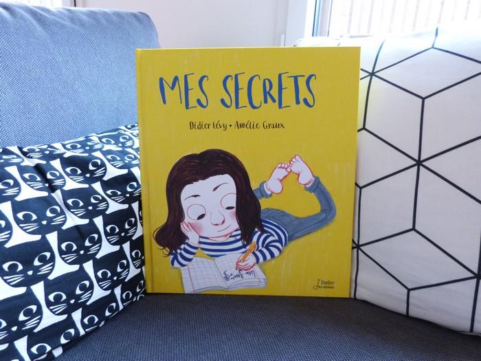 Album enfant - Mes secrets - Belin Jeunesse
