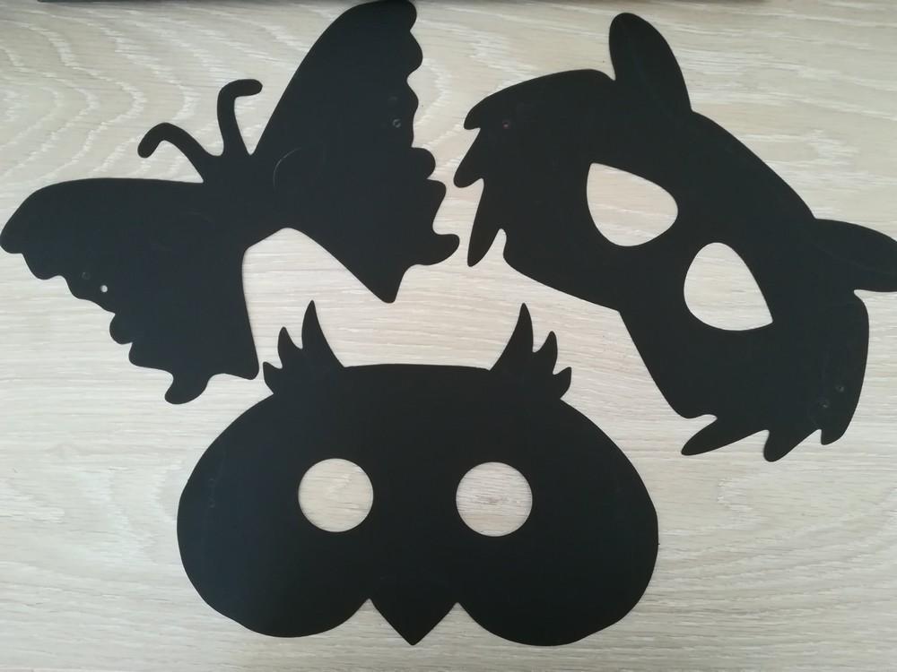 Masques à gratter Animaux