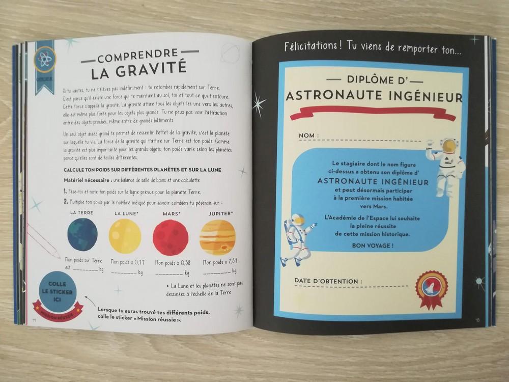 astronaute academie