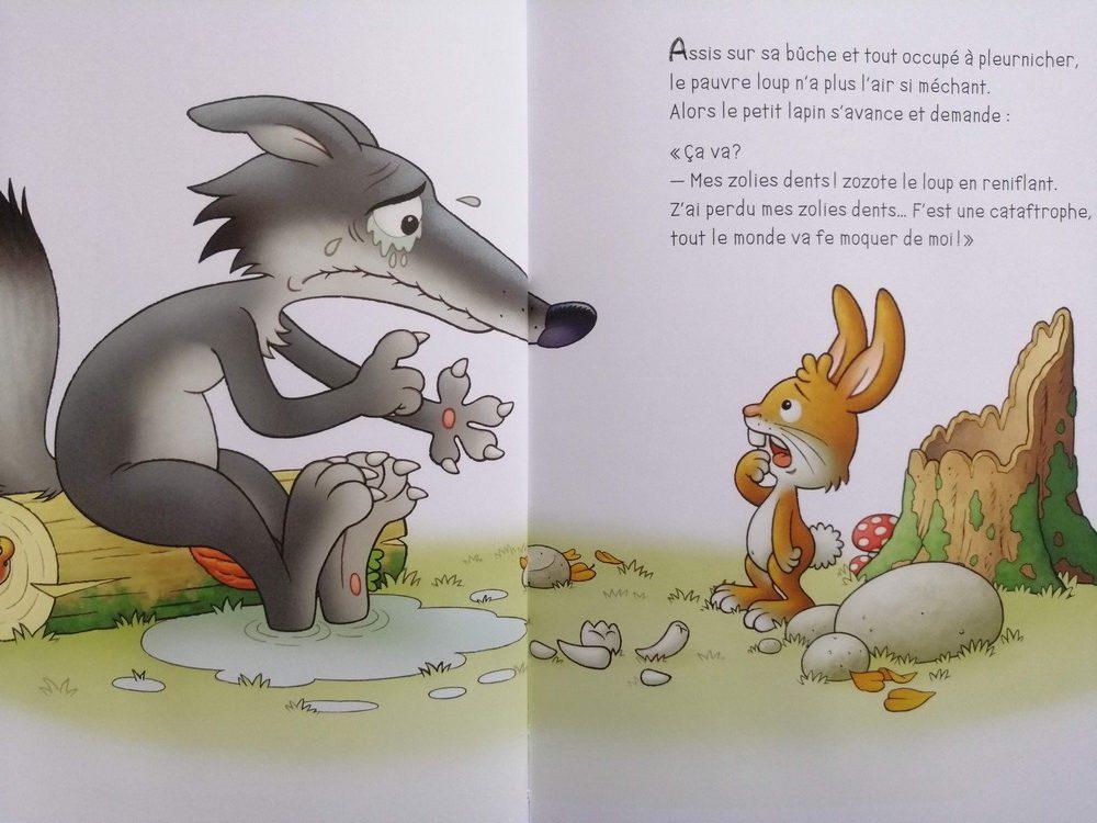 Le loup qui a perdu toutes ses dents