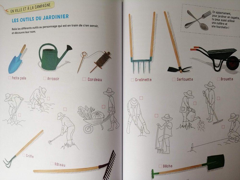 Mon cahier d'activités nature - le potager