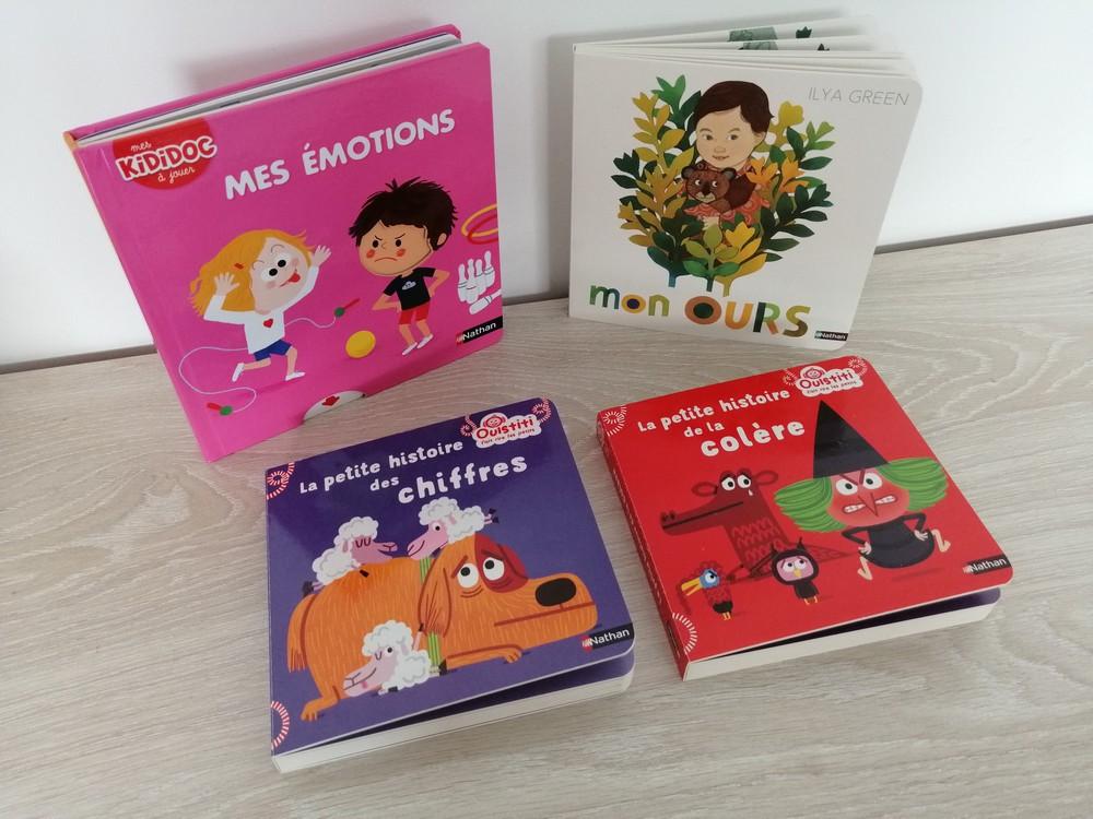 livres cartonnés pour les petits