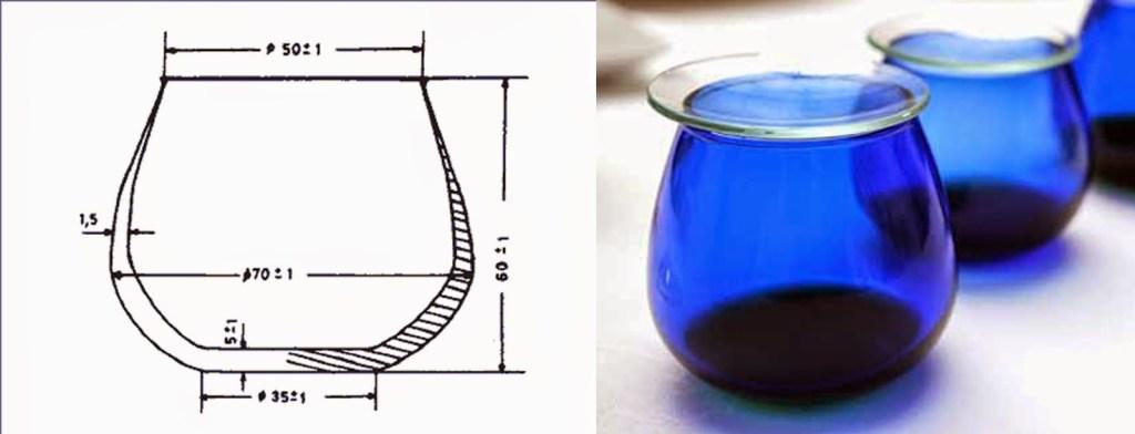 Taster de aceite. Fuente: El blog de los aceites de oliva.