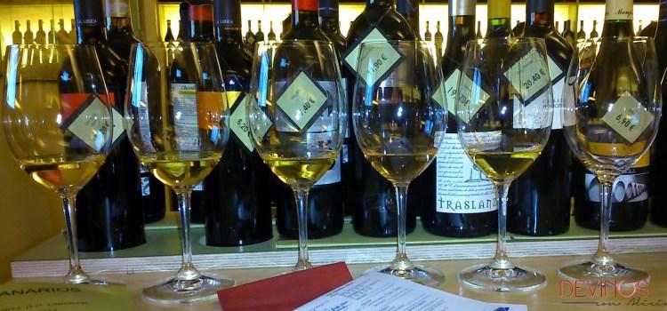 Vinos blancos canarios (1º parte)