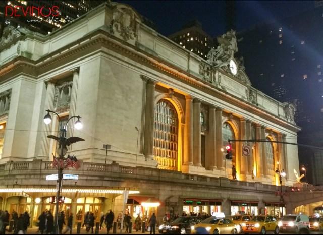 Grand Central Terminal. Fuente: Vanessa Martiny para Devinos con Alicia