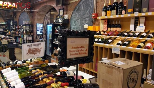 Mercado de Chelsea - Chelsea Wine Vault. Fuente: Vanessa Martiny para Devinos con Alicia