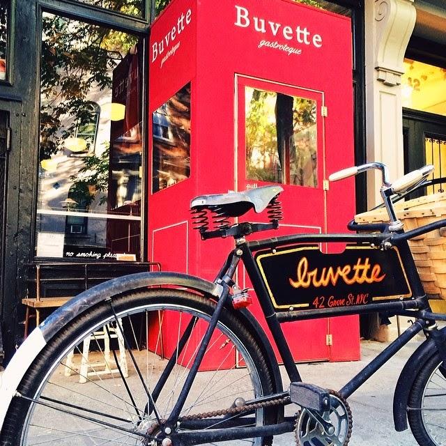 Buvette en el West Village. Fuente: Vanessa Martiny para Devinos con Alicia