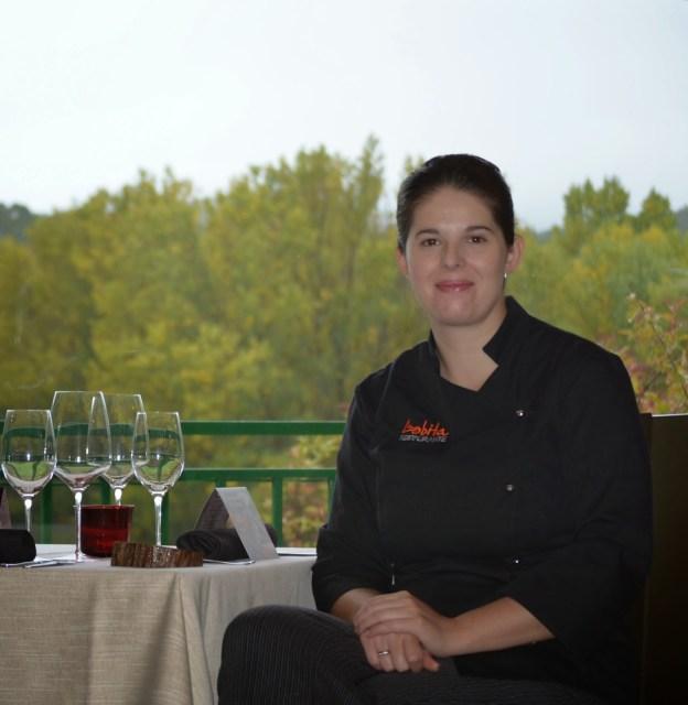 Elena Lucas, chef en Restaurante La Lobita. Fuente: Restaurante La Lobita