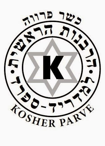 Sello de Certificado de producto Kosher. Fuente [en línea]: lapontezuelablog.com