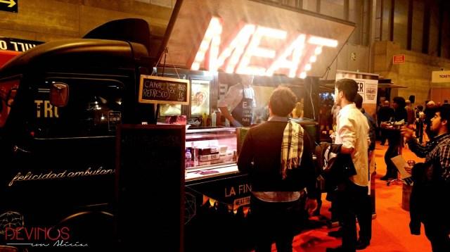 Meat, felicidad ambulante. Fuente: Vanessa Martiny para Devinos con Alicia