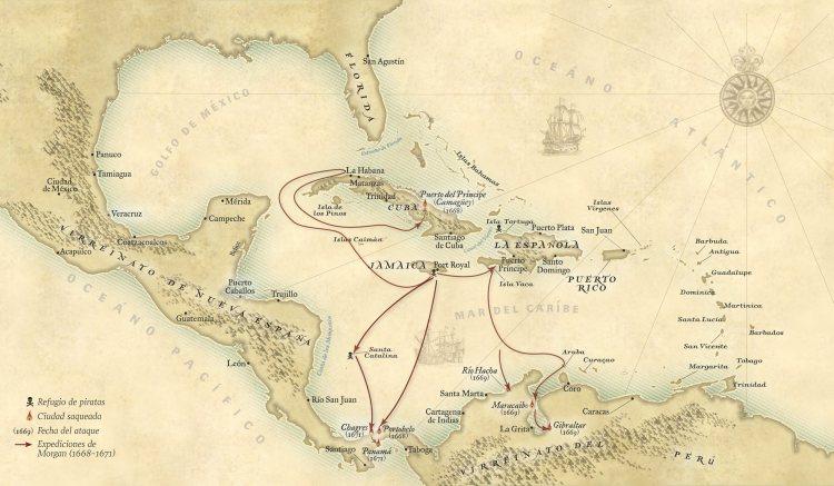 Capitan Morgan Ron Devinos con Alicia Vicio Pirata Henry Panama