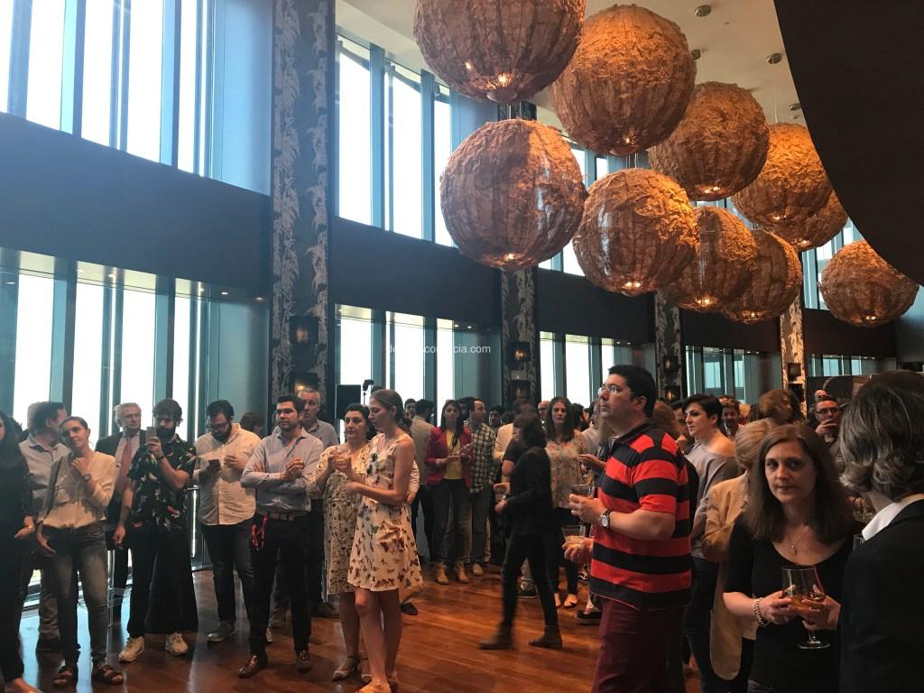 Evento de presentación del nuevo Vermut Blanco Lustau. Copyright: devinosconalicia.com