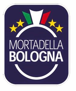 Sello de calidad de Mortadella di Bologna. Copyright: www.latagliatellaccompagnata.it