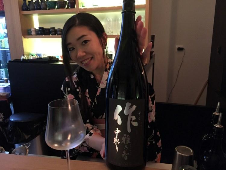 Mayuko Sasayama, Shuwa Shuwa Sake Bar (Madrid). Copyright: devinosconalicia.com