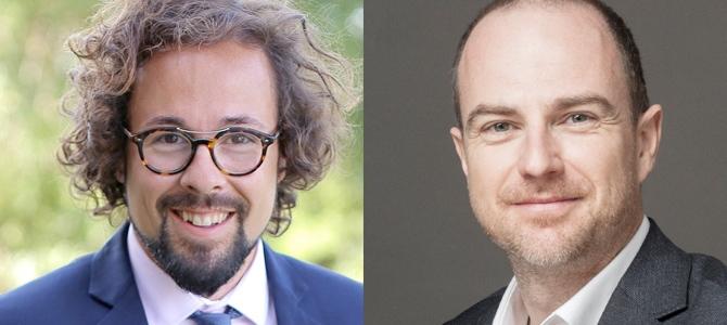 Fernando Mora y Andreas Kubach. Copyright: Sobremesa