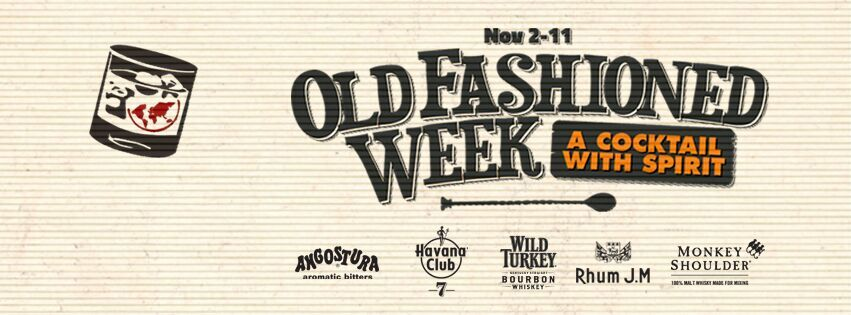Old Fashioned Week. A cocktail with spirit. Copyright: www.old-fashioned-week.com