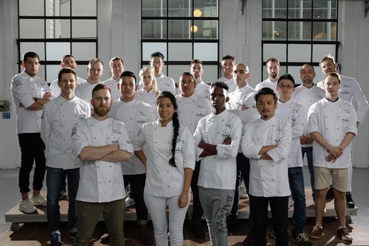 Los 21 finalistas de S. Pellegrino Young Chef 2018. Copyright: S. Pellegrino