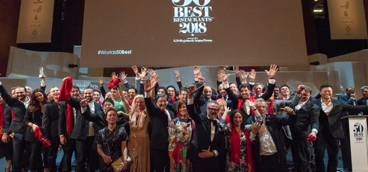 The World´s 50 Best Restaurants 2018, puestos del 1 al 50