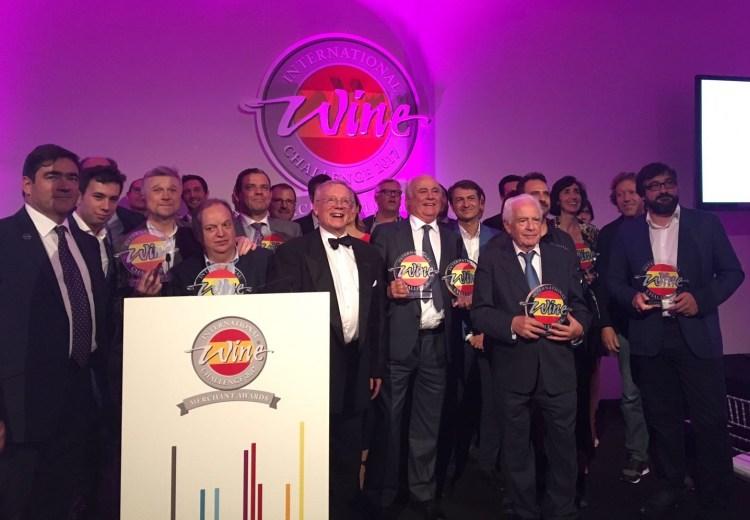 Ganadores de International Wine Challenge Merchant Awards Spain 2017. Fuente Santa Cecilia