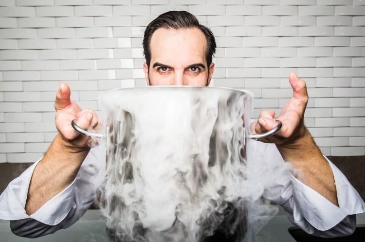 Mario Sandoval, chef de Coque**