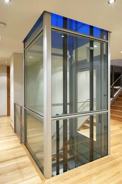 Ascenseur Maison Autoportant Lidal Pour Compenser Le