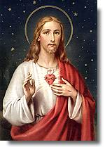 [Estampa del Sagrado Corazón de Jesús]