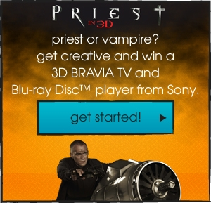 Sony inspires filmmakers with Priest trailer challenge – 3 students get to pitch their re-edited trailer in LA